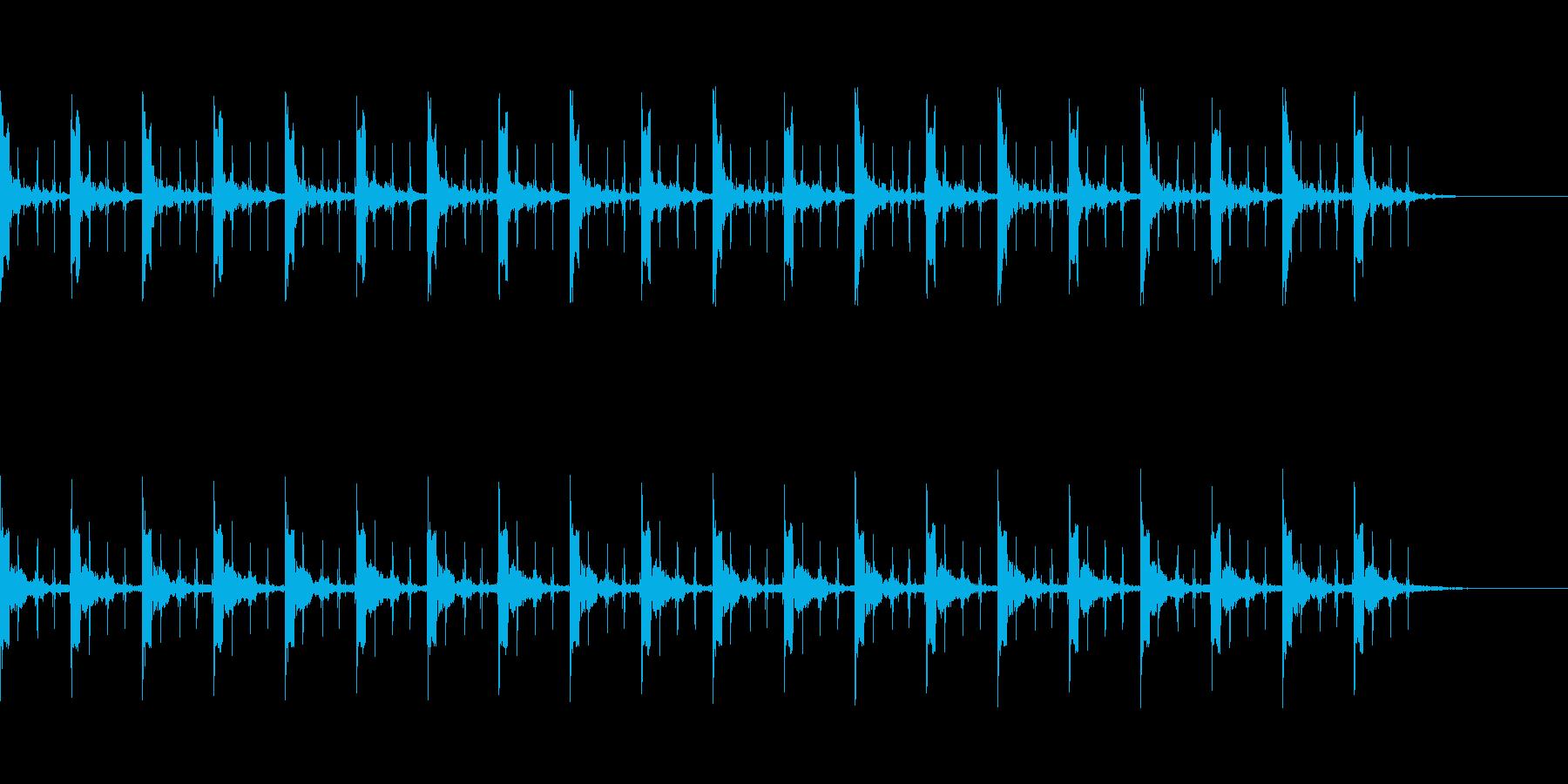 ピッピ+秒針 カウント20秒 - 02の再生済みの波形
