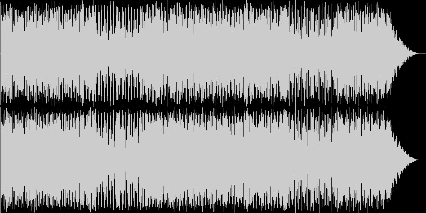 パズルゲーム向きのポップでカワイイ音楽の未再生の波形