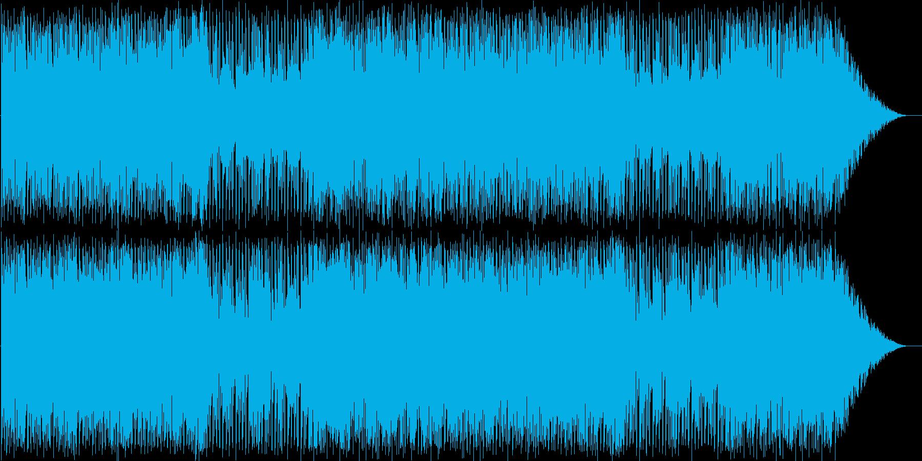 パズルゲーム向きのポップでカワイイ音楽の再生済みの波形