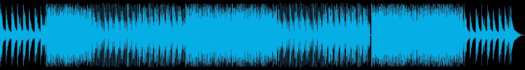 エモーショナルなエレクトロ(メロなし)の再生済みの波形