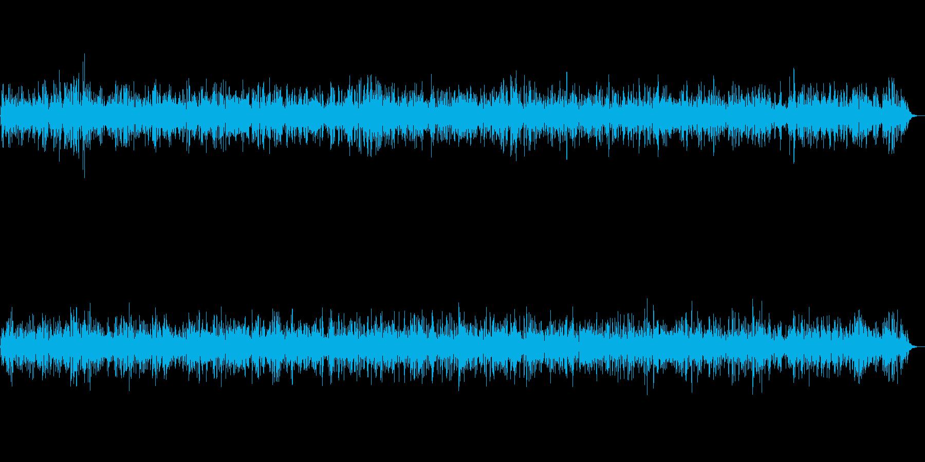 カフェで流れるお洒落なピアノジャズBGMの再生済みの波形