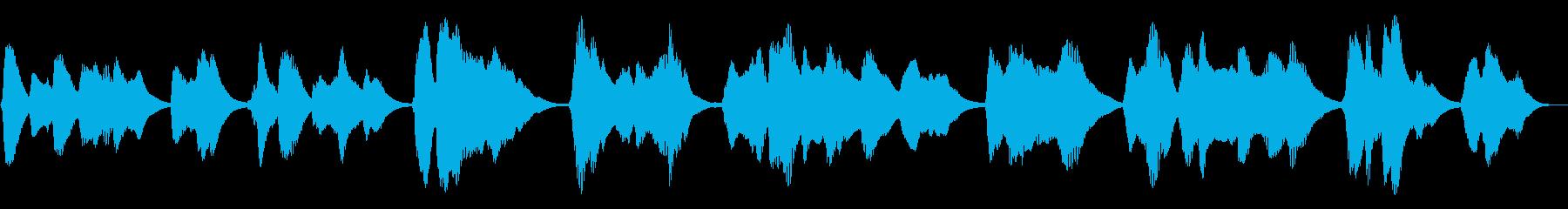 失われた電気音声通信の再生済みの波形