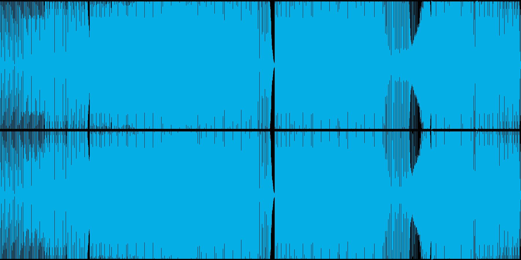 エレクトロハウス、アシッドシンセ、...の再生済みの波形