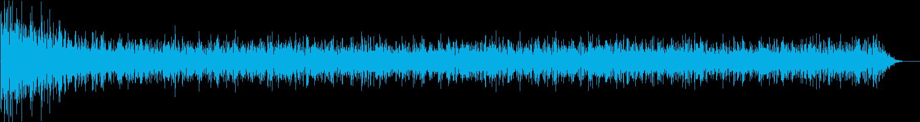 洞窟の環境音(広め)の再生済みの波形
