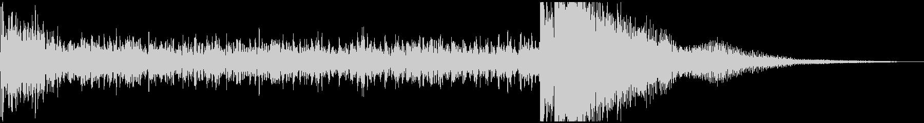 ティンパニーの迫力あるドラムロール/定番の未再生の波形