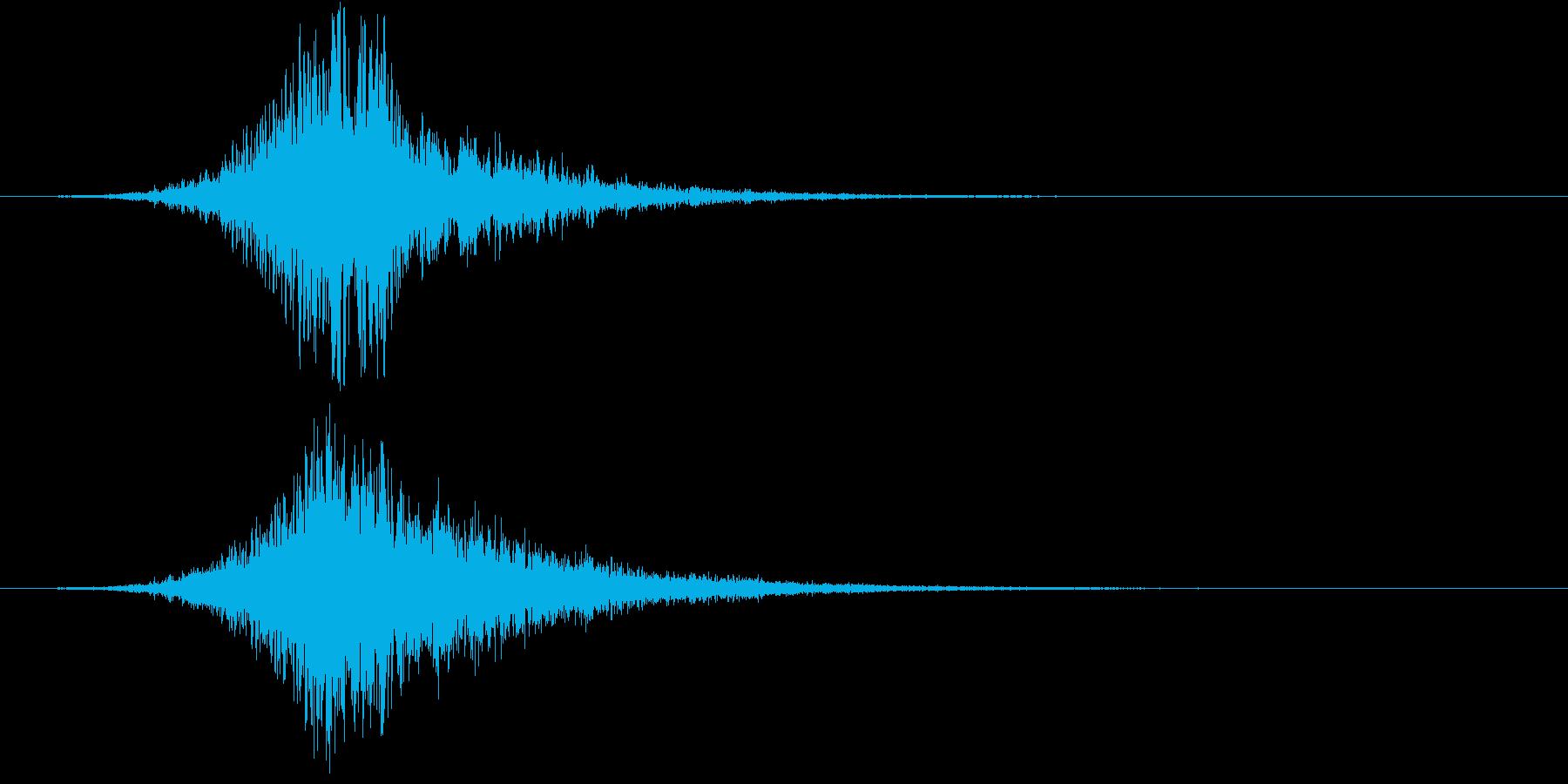 【映画・シネマ】ヒューン・・・・の再生済みの波形