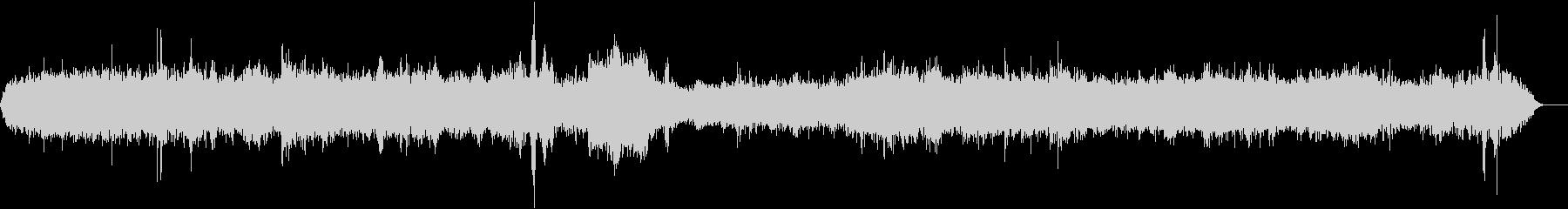 メトロプラットフォーム-電車-声の未再生の波形