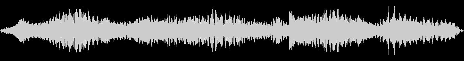 静かに不気味なホラー系BGM(ループ)の未再生の波形