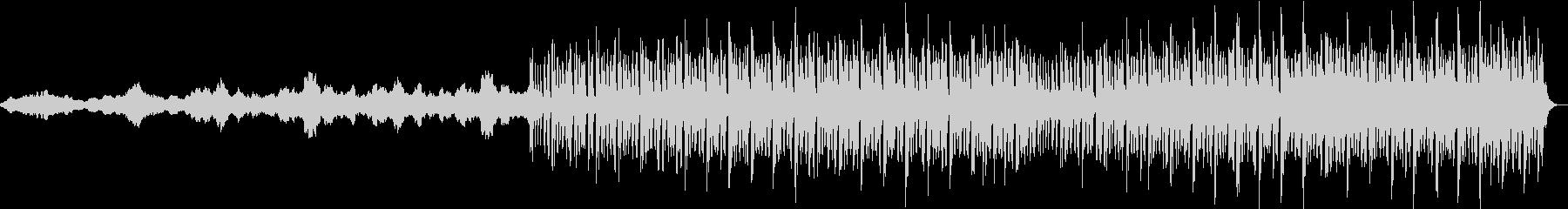 ストリングスとピアノによるフラクタル構造の未再生の波形