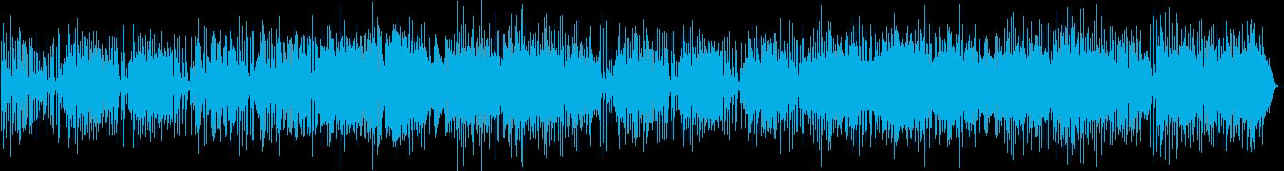 風が光るフルートと弦のポップなボサノヴァの再生済みの波形