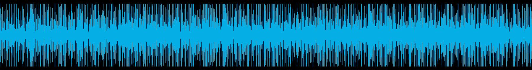 ジャングルをイメージ、緊迫感のあるドラムの再生済みの波形