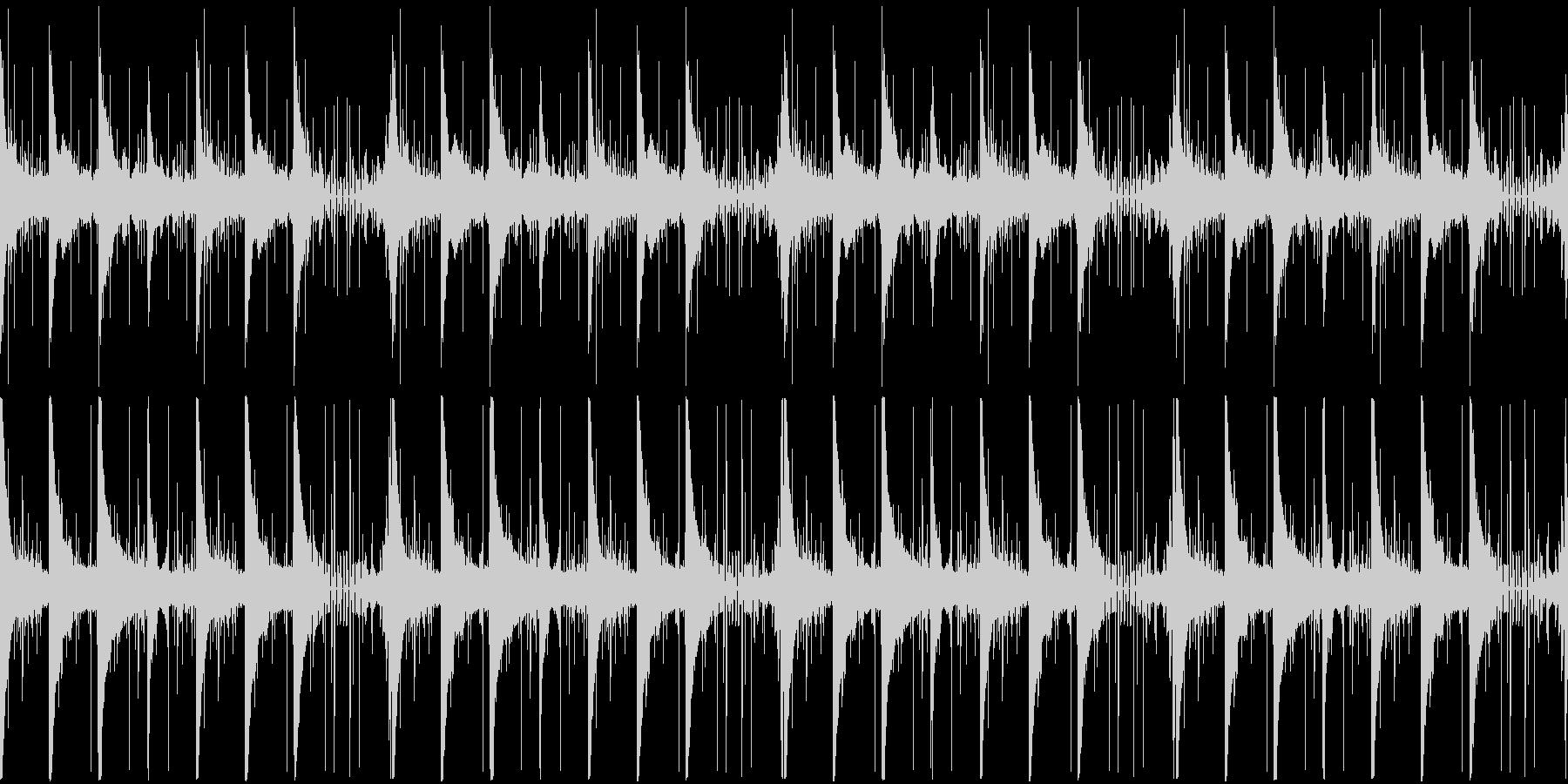 【雨/悲しみのピアノバラード】の未再生の波形