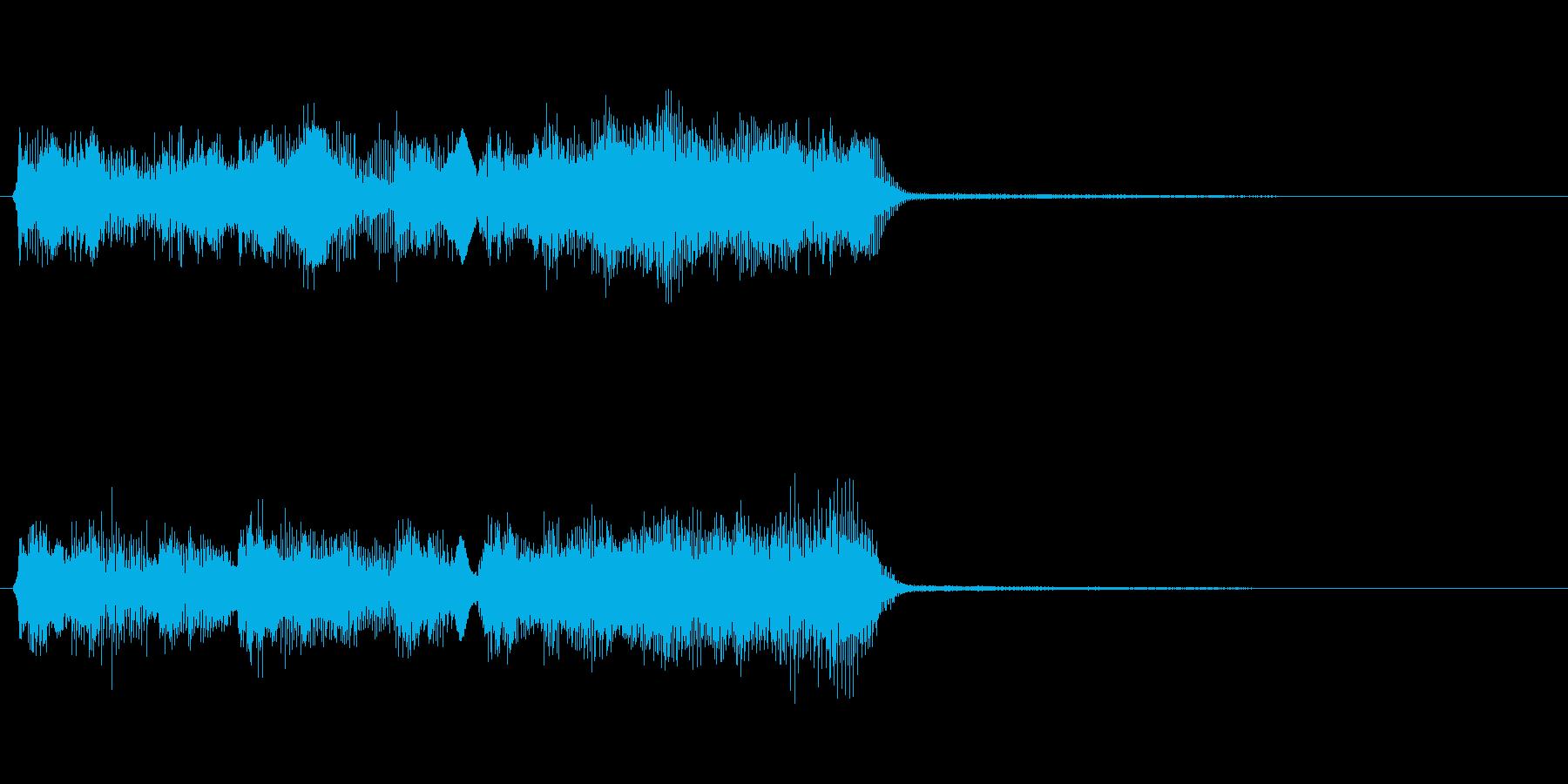 玩具系ファンファーレ-11の再生済みの波形