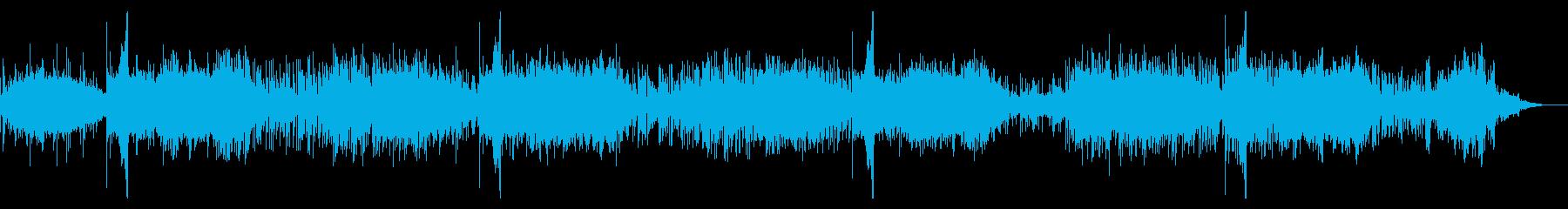 SF風のアンビエントIDMの再生済みの波形