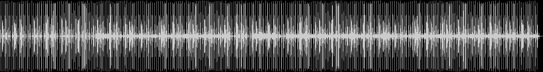 筋トレ向けゆったりボイスパーカッションの未再生の波形