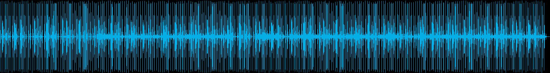 筋トレ向けゆったりボイスパーカッションの再生済みの波形