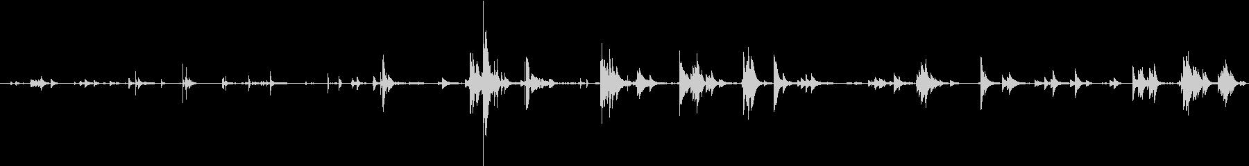 ベルライトティンクリーの未再生の波形