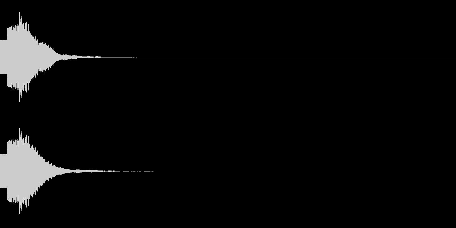 決定/アイテム取得/キラキラ/チャラリッの未再生の波形