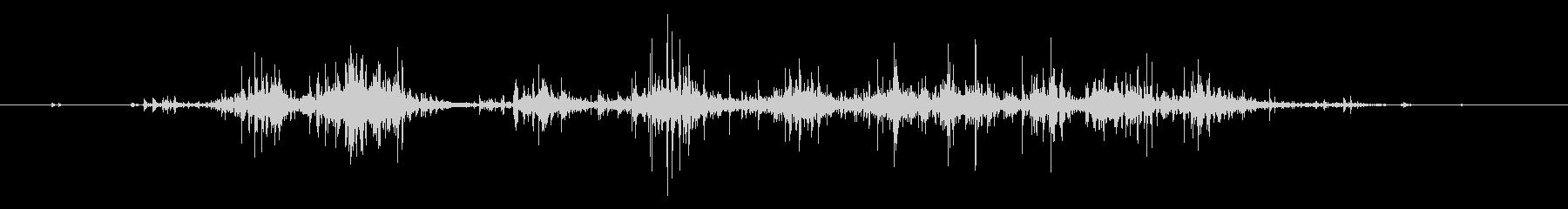 タブレッド菓子出す音・振る音17の未再生の波形