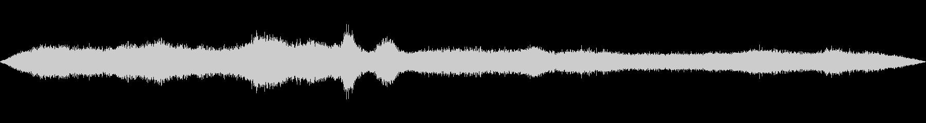 【海】【波の音】太平洋 1分 【生音】の未再生の波形