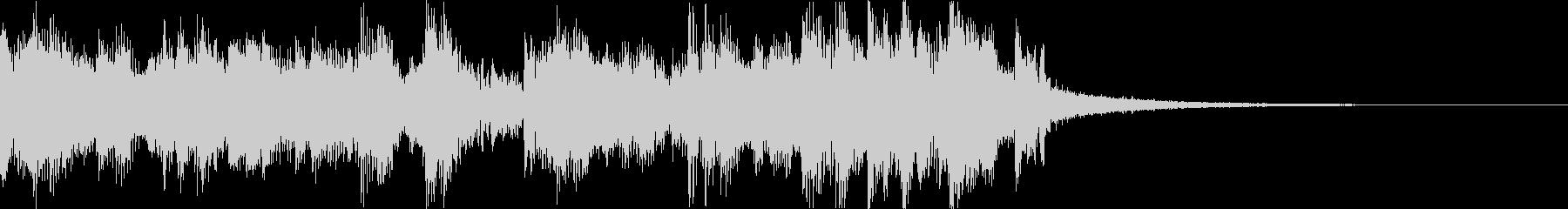 スタイリッシュ・アグレッシブエレクトロaの未再生の波形