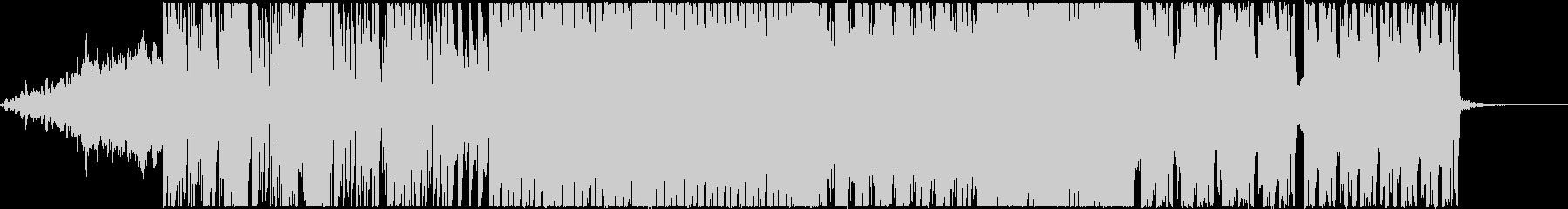 エレクトロなクラブ系ダンストラックEDMの未再生の波形