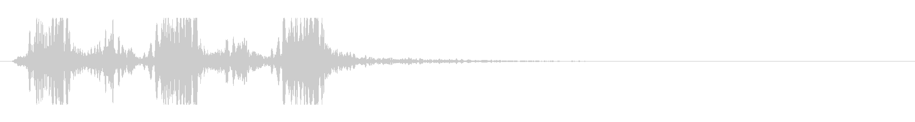 SONAR:WHALE-LIKE ...の未再生の波形