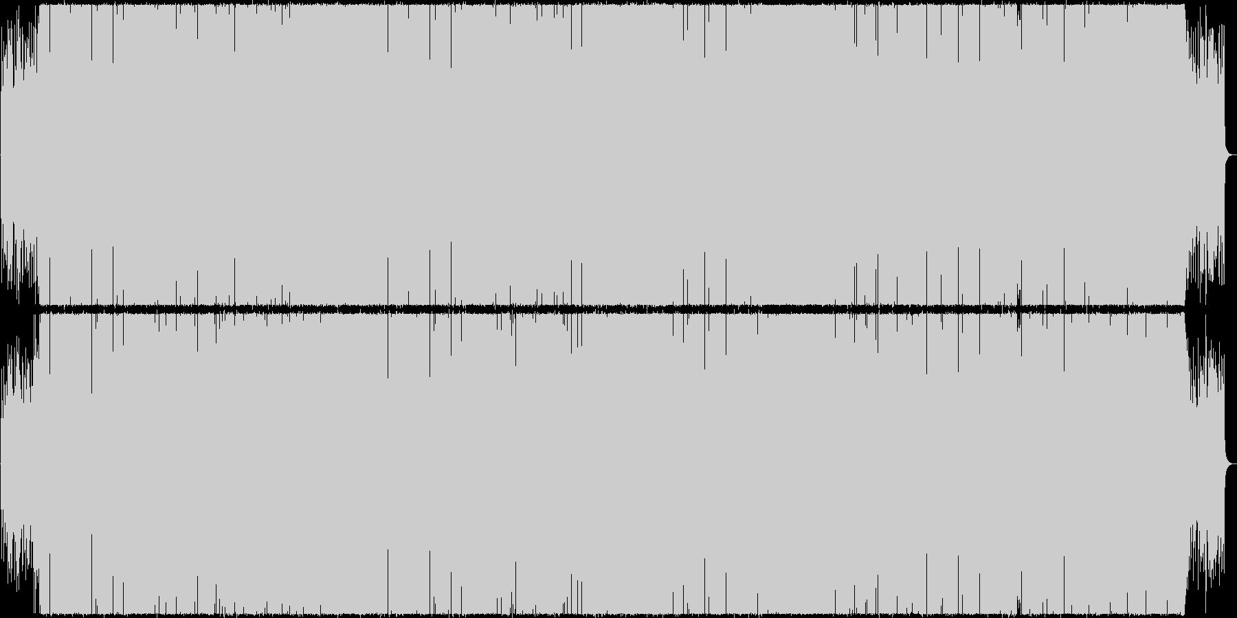 シックでグルーヴィなミクスチャーファンクの未再生の波形