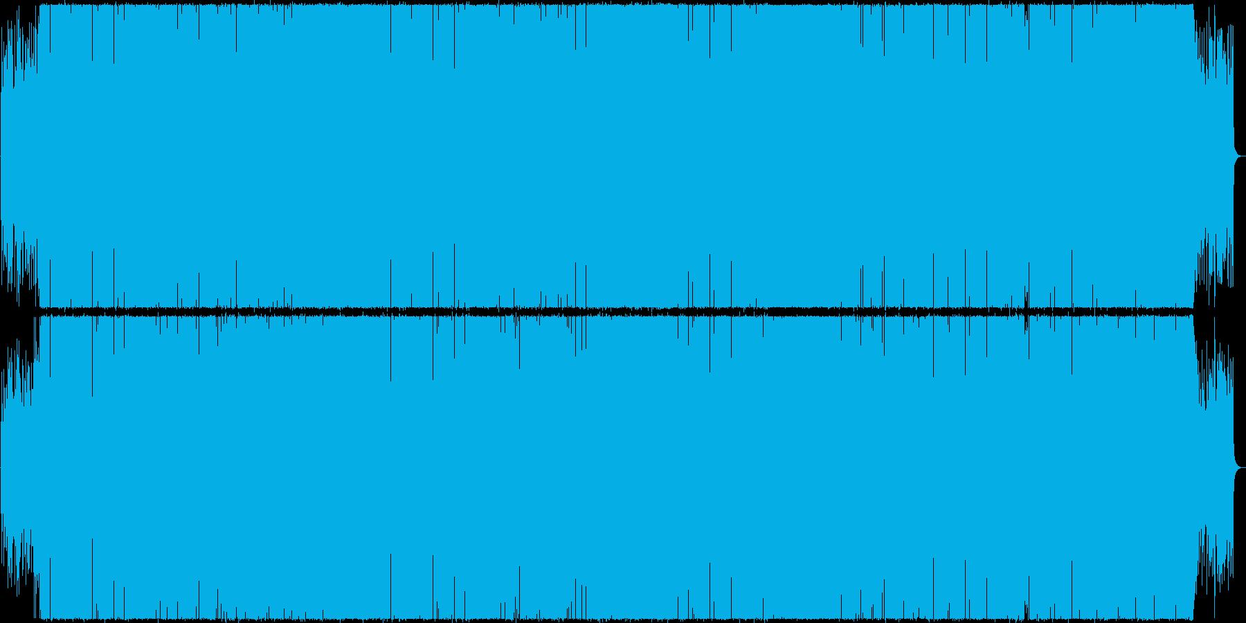 シックでグルーヴィなミクスチャーファンクの再生済みの波形