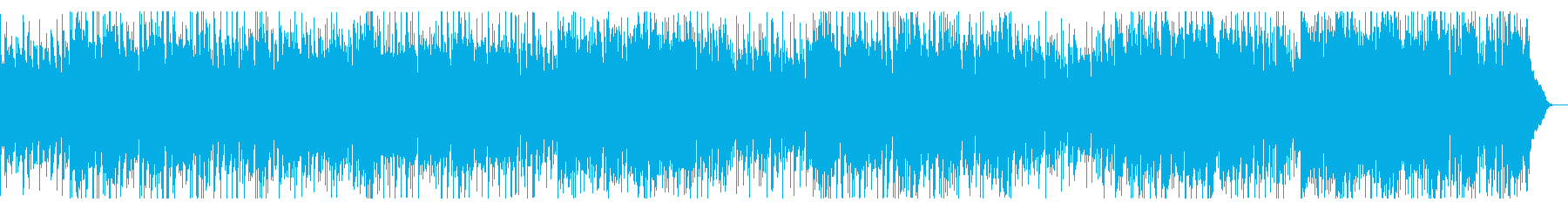心が浮き立つボサノバの再生済みの波形
