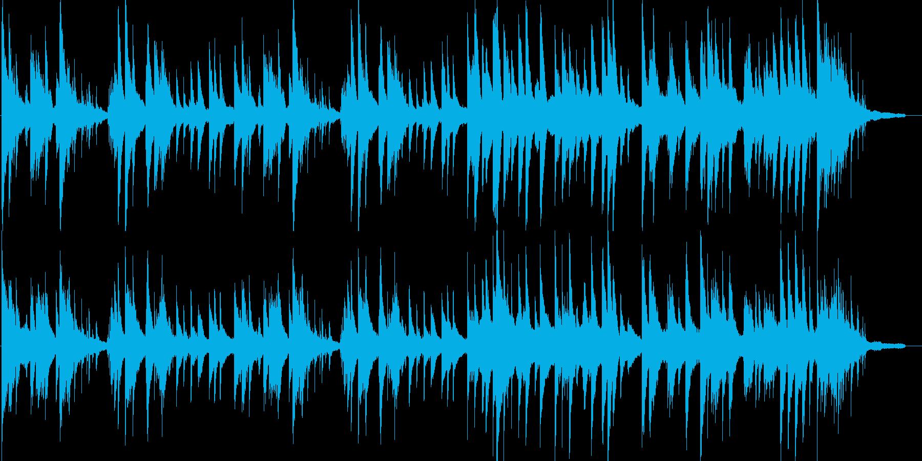 透明感・幻想的・ピアノ・イベント・映像の再生済みの波形