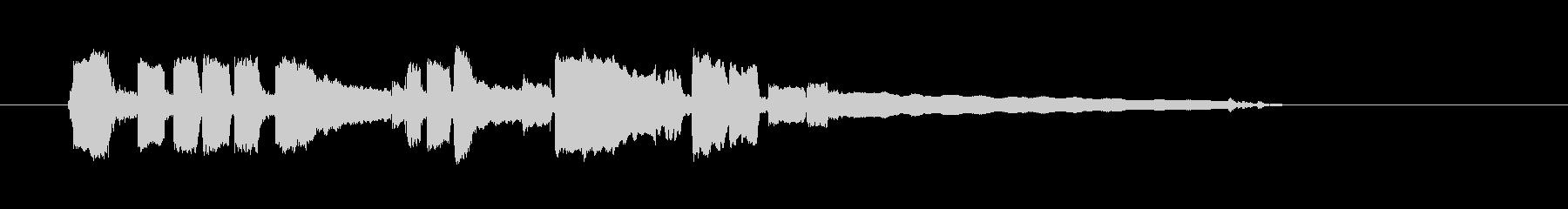 ブルースギター-ショートソロ4の未再生の波形