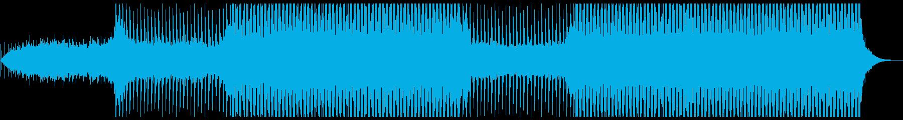 カウントダウン!緊迫感溢れる楽曲・Fの再生済みの波形