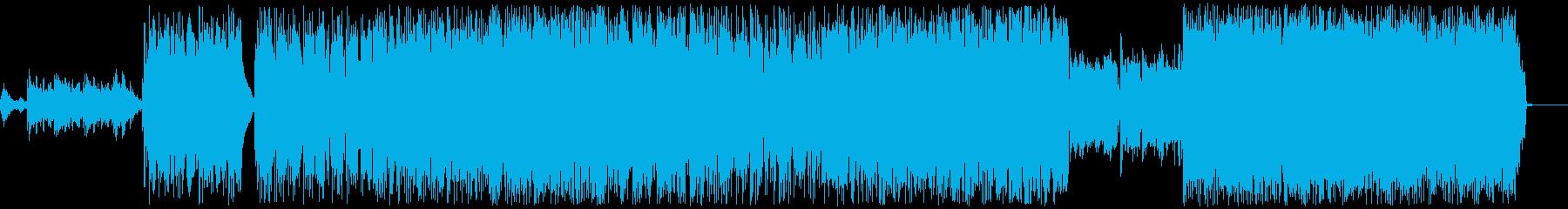 大人のドラマチックファンクバラードの再生済みの波形