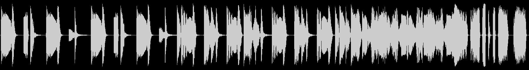 逆転した電子バンパーの未再生の波形
