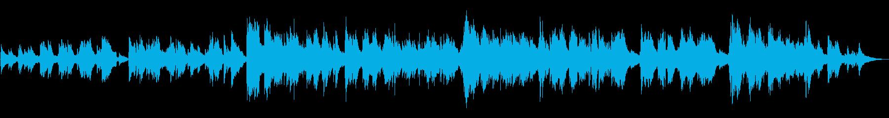 ゆっくりとした瞑想的な歌は、スパー...の再生済みの波形