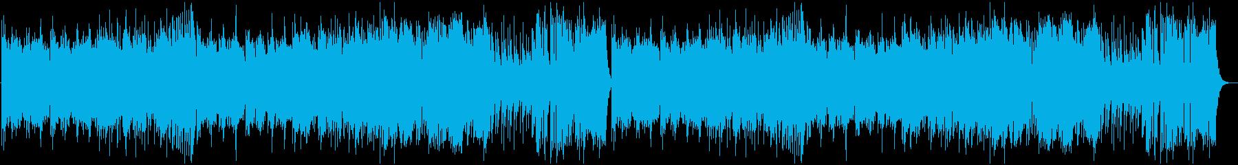 ほのぼのとした中世トラッドの再生済みの波形