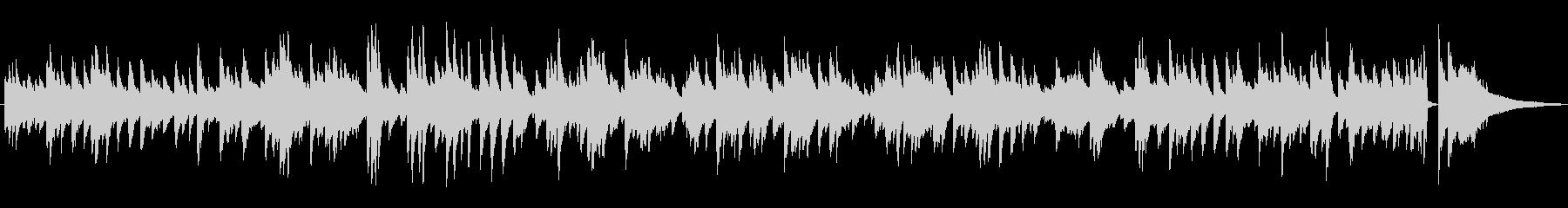 ゆっくりめのジャズラウンジピアノソロの未再生の波形