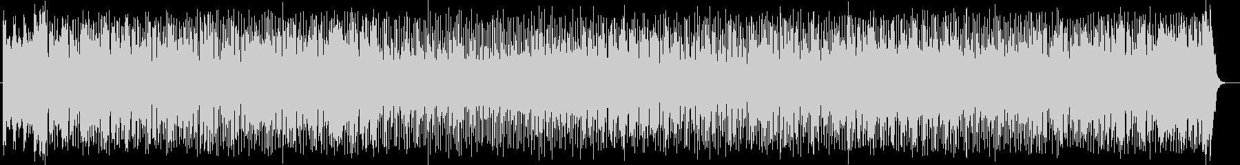シンセが奏でる可愛らしいサンバの曲の未再生の波形
