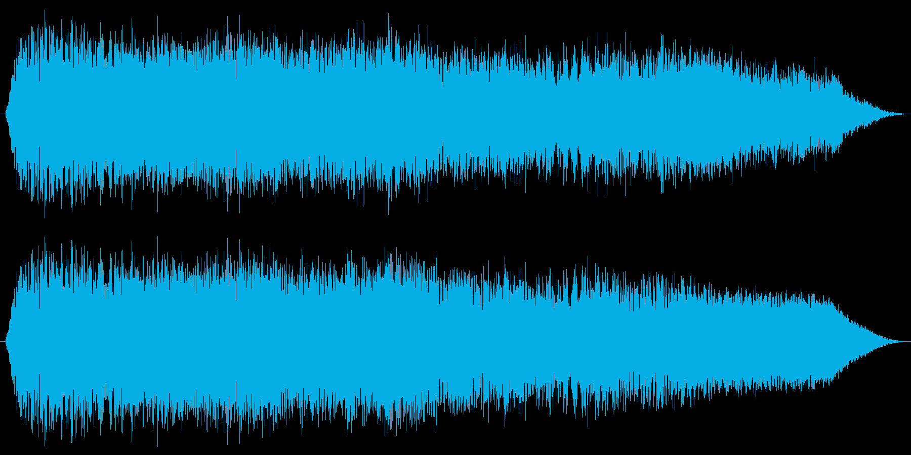 暴走族の走行およびコール タイプAの再生済みの波形