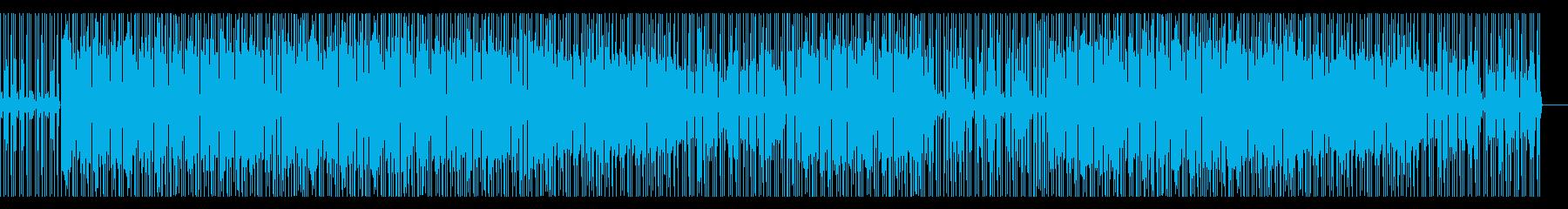 キレのあるホーンセクション・ファンク曲の再生済みの波形