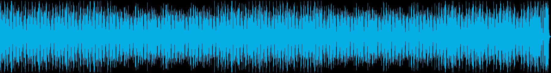 ミニゲームに使えそうなBGMの再生済みの波形