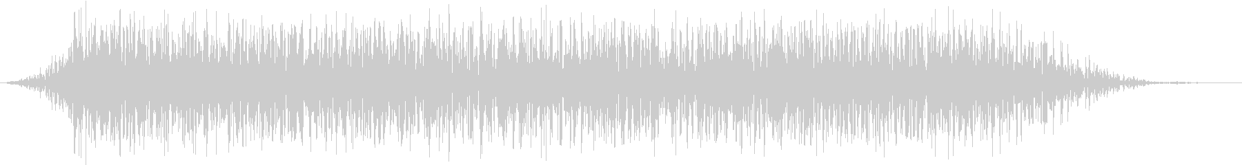 モンスター 悲鳴 50の未再生の波形