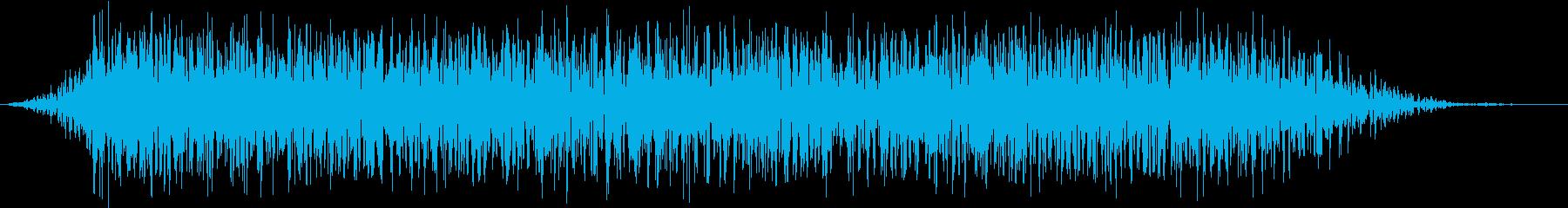 モンスター 悲鳴 50の再生済みの波形