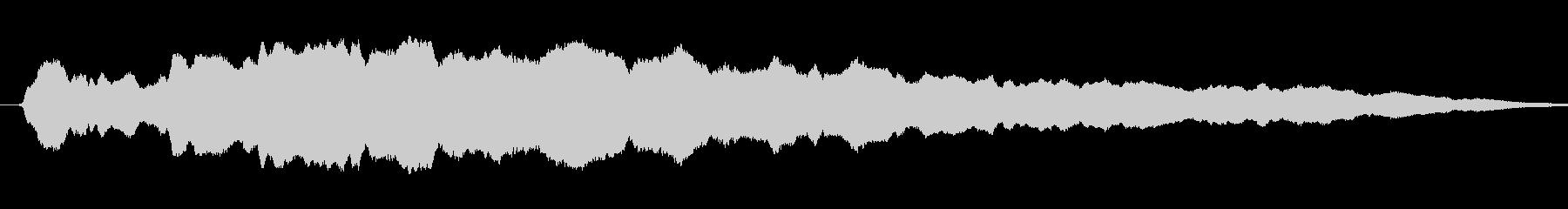 漫画スライドホイッスル:渦巻くスラ...の未再生の波形