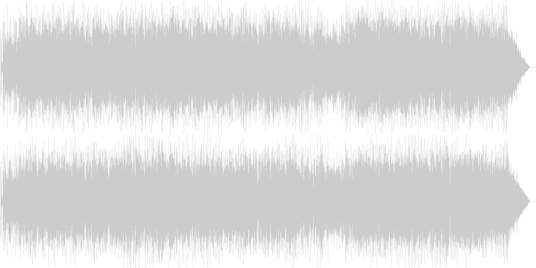 ルピナスの未再生の波形
