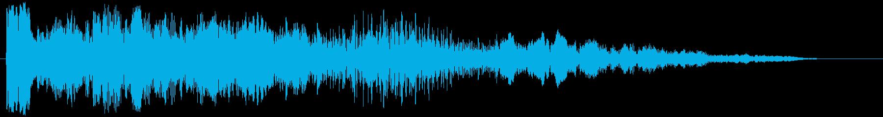 重いLFE、位相を持つLFE電子パルスの再生済みの波形