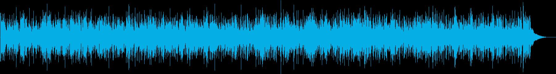 ハーモニカ中心のアコースティックフォークの再生済みの波形