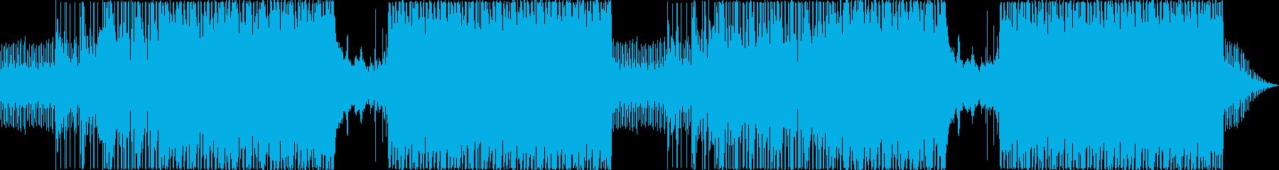 推理、ドキュメンタリーにミステリアスな曲の再生済みの波形