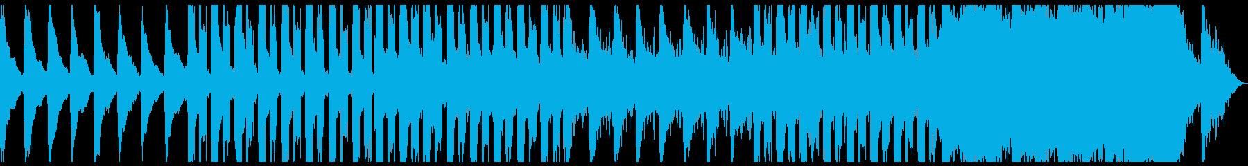 ほのぼのとした雰囲気のチルトラック♪の再生済みの波形